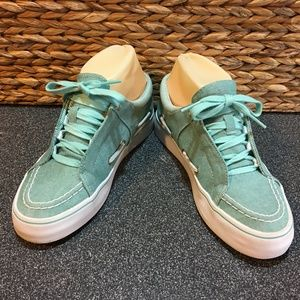 Creative Recreation Green & White Luchese Shoes